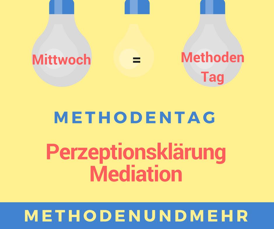 Perzeptionsklärung. Mediation.