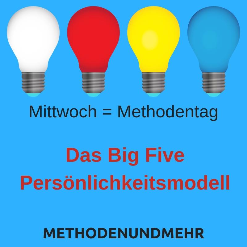 Das Big Five Persönlichkeitsmodell