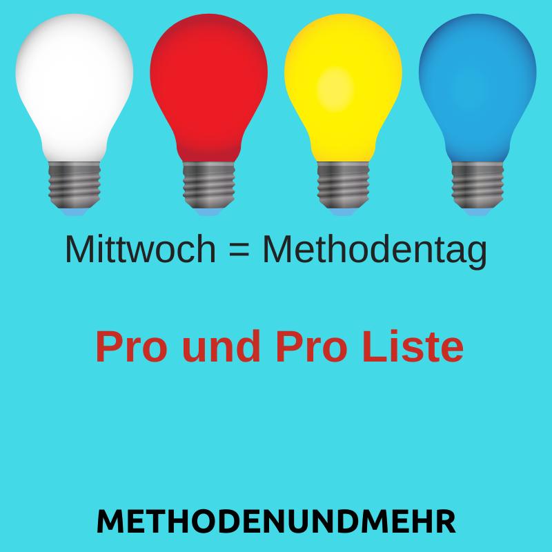 Pro und Pro Liste