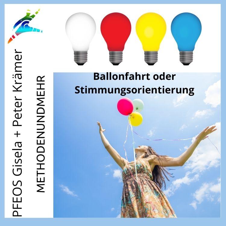 Ballonfahrt oder Stimmungsorientierung